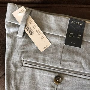 J. Crew Slim Bowery Pants with Tags